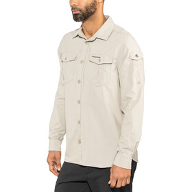 Craghoppers NosiLife Adventure II Long Sleeved Shirt Herre parchment